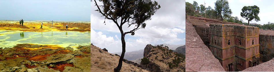 Tour in the North of Ethiopia